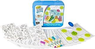 Crayola Color Wonder 着色活动套装,动物艺术和手工艺品适*为儿童和幼儿 3 岁及以上儿童,无脏乱记号笔,印章,贴纸和彩色页面,30 多件