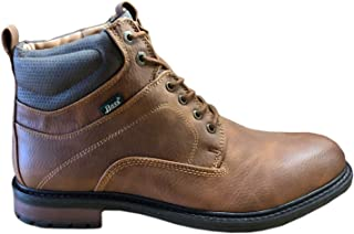 Samsung C&T America Inc GH Bass 男式船员翻滚 WX 靴子,成人,棕褐色/棕色,7.5 M 美国