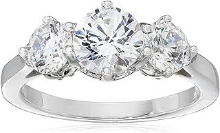 Myia Passiello 永恒施华洛世奇锆石三石标志性圆形戒指