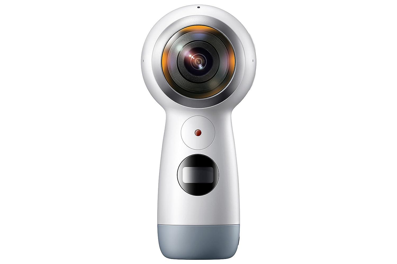 【自营配送】三星Gear360全景相机二代 VR运动相机 摄像机4K画质 支持S8/S8+ S6edge+/Note5/iPhone7等通用