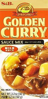 S & B Golden Curry Sauce Mix, Mild, 3.2 oz