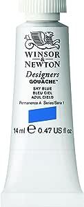 Winsor & Newton Designers Gouache Tube, 14ml, Sky Blue