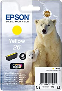 Epson爱普生 T2616 墨盒 北极熊 黄色 黄色