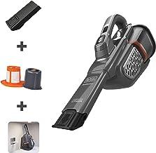 BLACK+DECKER 防塵手持式真空吸塵器,無繩灰色 (HHVK415B01)