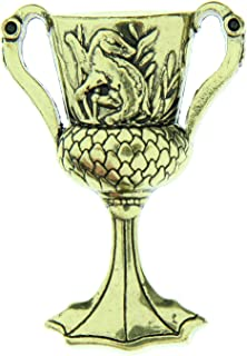 Seven Times Six Harry Potter Helga Hufflepuff Cup 金色胸针搪瓷别针