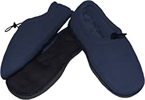 Nature Creation SensaCare Relaxation Thermo-Shoes, Blue, X-Large