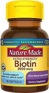 Nature Made 莱萃美生物素超值装液体软胶囊,2500毫克,150粒装(包装可能不同) 90份 90