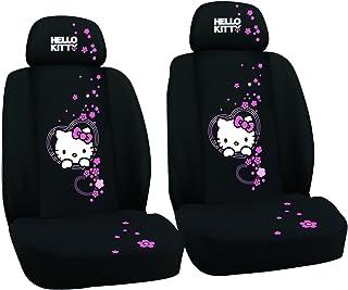 Kaufmann HKINN720 Hello Kitty 汽车座套用于前排座椅刺绣