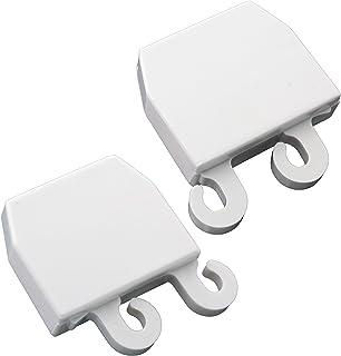 供应需求 3206165 & 3206166 冰箱门架端盖 适用于 Frigidaire 适合 5303209055、5303273100