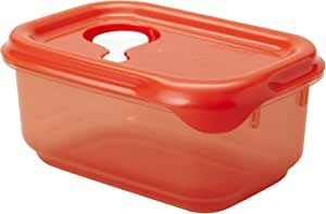 Starmaid Fresh Seal Food Storage Container, 2.1-Cup, Tangerine Tint