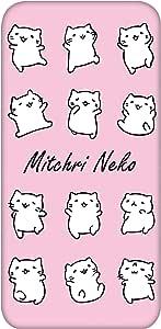 Mitchiri 猫 手机壳 透明 TPU 印刷 白色系列WN-LC520720 2_ Xperia XZs SO-03J みっちりねこホワイトシリーズC