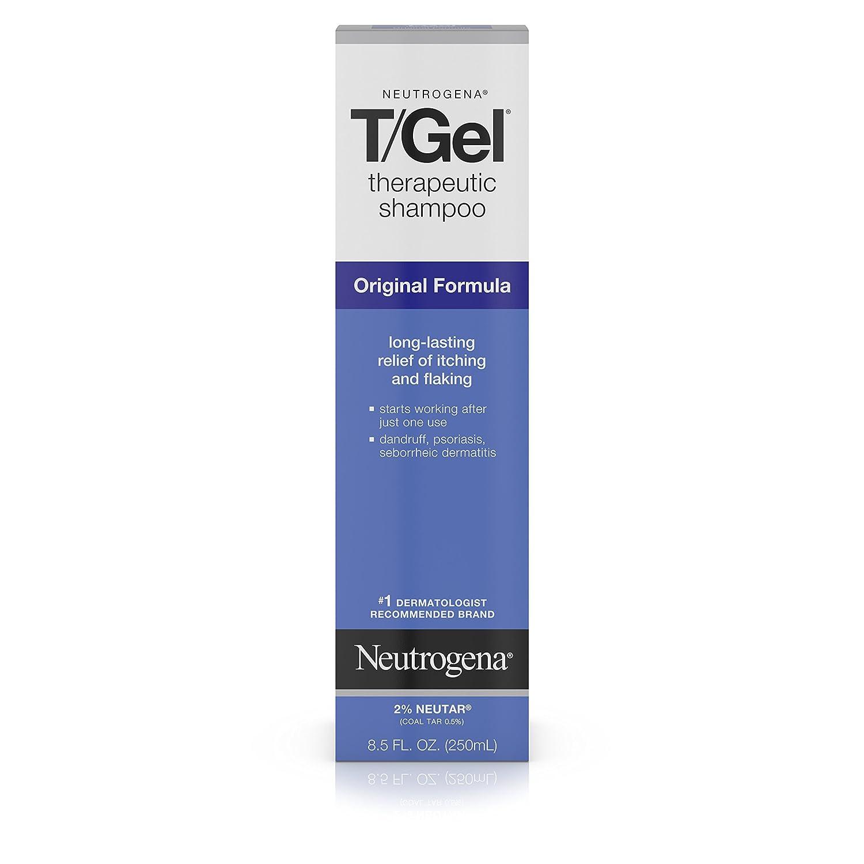 Neutrogena T / Gel 治疗洗发水 8.5盎司(2瓶装)