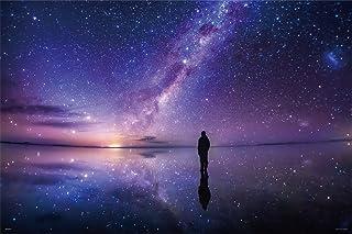 1000片 拼图 KAGAYA 银河的灰尘(乌尤尼盐湖) 【发光拼图】(50x75cm)