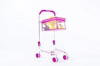 NBD Corp 儿童购物车 – 这款超棒的儿童购物车采用耐用金属制成,前轮可轻松转动,看起来像商店里的同款,但更可爱