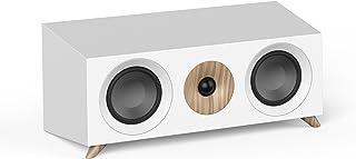 Jamo S 83 CN揚聲器,黑色,堅果樹,白色(有線,160瓦,65-26000 Hz,8歐姆,黑色,堅果樹,白色)