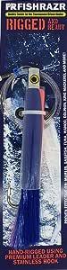 Fish Razor FR422 16.51 cm Rigged Chrome 平头粉色/蓝色