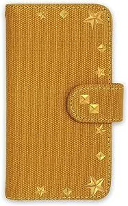 whitenuts 壳 手册式 帆布 铆钉 装饰WN-OD161737 1_ iPhone5 驼色