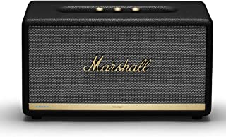 Marshall  Stanmore II Wireless Wi-Fi Smart Speaker with Amazon Alexa Voice Control Built-In Black, - NEW