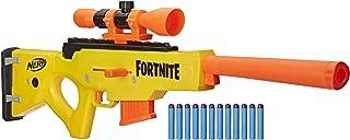 Nerf Fortnite BASR-L 螺栓动作、弹簧弹头枪 - 包括可拆卸镜子、6 发弹夹和 12 个 Nerf Elite 官方软头弹