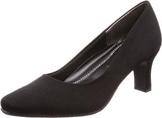 [罗密欧华伦天奴] 缎子 方头 鞋跟6.5cm 足围3E 女士 B17102
