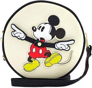 Loungefly x Disney 米老鼠钟臂圆形斜挎包