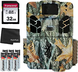Browning Dark Ops Pro X 20MP 越野相机 BTC 6HDPX + 32GB SD 卡 + 8 节 AA 电池和镜头清洁布