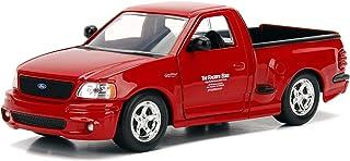 Jada Toys Fast & Furious Brian's Ford F-150 SVT 闪电,1:24 比例压铸汽车,红色