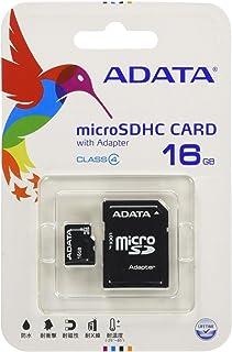 A-Data USA microSDHC Flash Memory Card 黑色 16GB