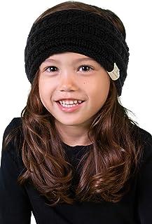 Funky Junque CC 儿童婴幼儿针织毛绒衬里头巾头巾护耳