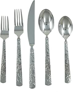 Ginkgo International Mercury 42-Piece Flatware Set