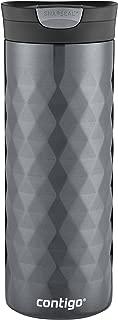 Contigo 康迪克 SnapSeal Kenton不銹鋼旅行馬克杯,20盎司(約591毫升),青銅色