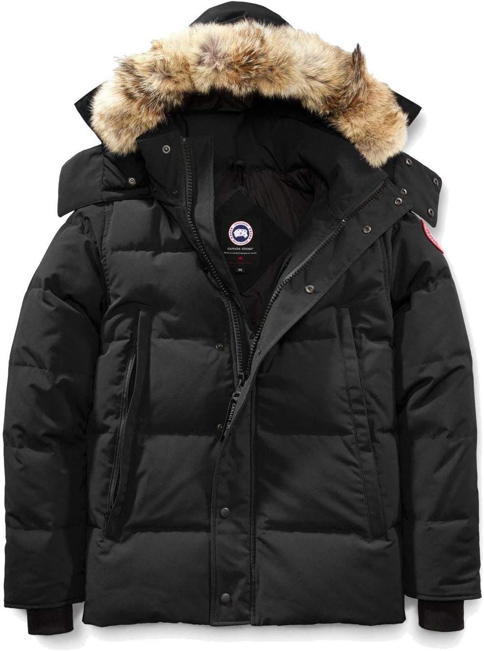 反季促销:5128.36元  Canada Goose 加拿大鹅 Wyndham 男士羽绒服