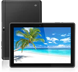 LLLtrade 10 英寸 Android 谷歌平板电脑,Android 9.0 Pie,GMS 认证,64GB 存储,四核处理器,IPS 高清显示屏,Wi-Fi,蓝牙,GPS