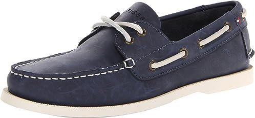 Tommy Hilfiger 汤米·希尔费格 男式 Bowman 船鞋