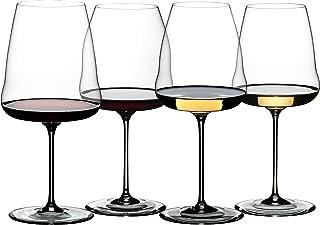 Riedel Winewings 品酒酒杯套装,4 件套,透明