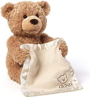 Gund 躲猫猫的泰迪熊电动毛绒玩具