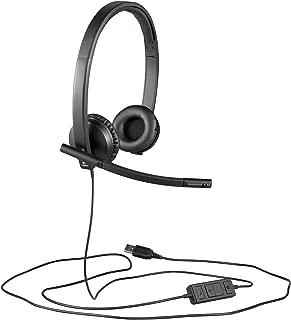 Logitech H570e USB Mono Headset 耳道式/入耳式 黑色2229408 立体声 黑色