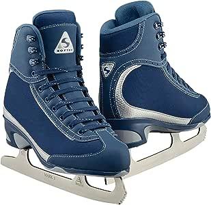 Jackson Ultima Softec Vista ST3200 ST3201 花样冰鞋 适合女士和女孩,黑色,*蓝,白色