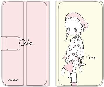caho 保护套薄款印花翻盖毛绒玩具和小女孩手机保护壳翻盖式适用于所有机型  ぬいぐるみと少女D 8_ ZenFone 4 ZE554KL