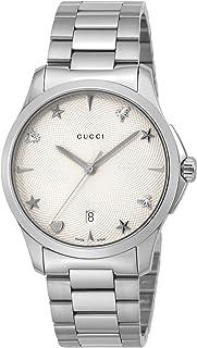[古驰]GUCCI 腕表 G Timeless 银色表盘 YA1264028 女士 【平行进口商品】