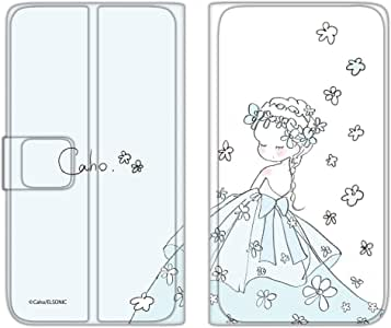 caho 翻盖保护套超薄翻盖印花婚礼手机保护壳翻盖式适用于所有机型  ウェディングD 1_ iPhone5s