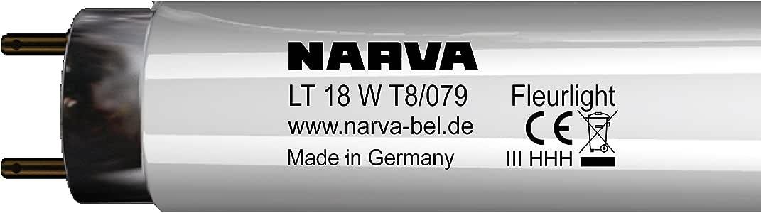 Narva 灯泡 T8 LT 18 Watt/079 Fleurlight G13 11018 0421