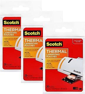 Scotch 热层压袋,6.35 x 9.8 厘米,钱包尺寸(VR)