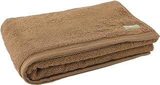 """内野(UCHINO) *棉 """"普安娜提拉""""浴巾 约70×140cm 棕色 8850B829 Br"""