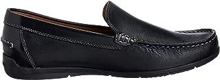 Geox Msimon2 男士一脚蹬乐福鞋 黑色 42 M EU