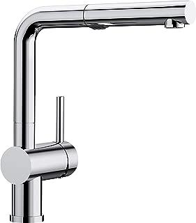 Blanco LINUS-S Vario系列 廚房配件, 金屬表面, 鍍鉻, 高壓, 1 件, 518406