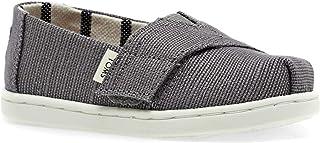 TOMS 青年/小号经典2.0一脚蹬鞋 Shade 传统帆布 7 M US Toddler