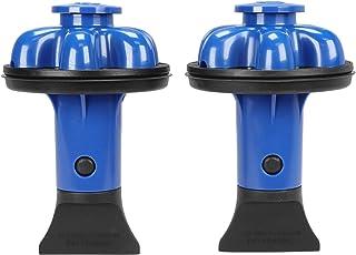 DANCO (DG2-P) Dispose Genie 2.0 厨房水槽过滤器,塞子和防溅板,带食品刮刀 蓝莓色 2 件装 10919A