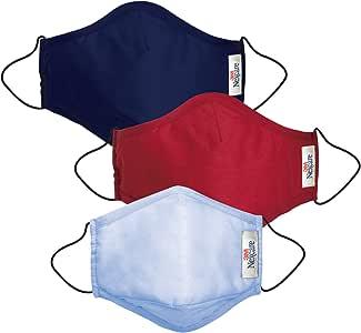 3M 耐适康Nexcare 舒适保暖口罩家庭组合 成人男+成人女+男童(亚马逊自营商品, 由供应商配送)