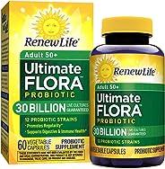 Renew Life Ultimate Flora50+成人益生菌- 300亿- 60粒胶囊
